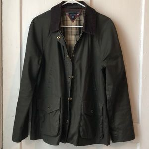 Green Tommy Hilfiger Jacket